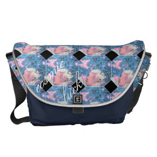 Beautiful dreamer large messenger bag