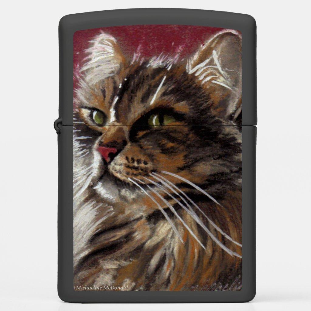 Beautiful Dreamer - Maine Coon Cat Lighter