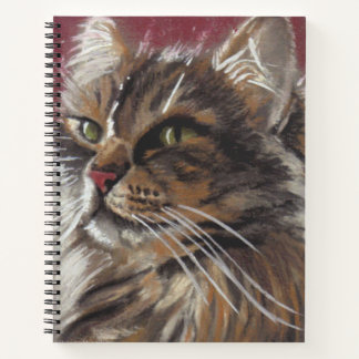 Beautiful Dreamer Maine Coon Cat Notebook