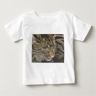 Beautiful Dreamer (sleeping tabby) Baby T-Shirt