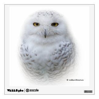 Beautiful, Dreamy and Serene Snowy Owl Wall Sticker