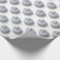 Beautiful, Dreamy and Serene Snowy Owl Wrapping Paper