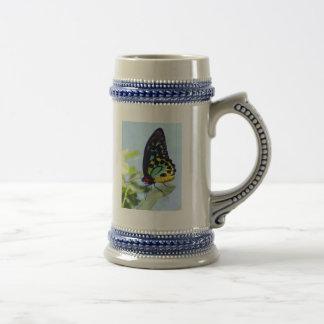 Beautiful Dreamy Butterfly 18 Oz Beer Stein