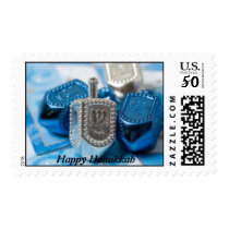 Beautiful Dreidel Design Postage