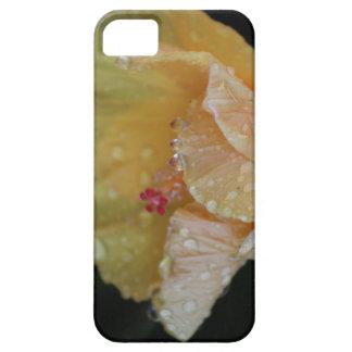 Beautiful dripping hibiscus flower phone case