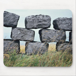 Beautiful Dry stone wall Mouse Pad