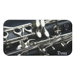 Beautiful Dual Clarinets iPhone 4 Case