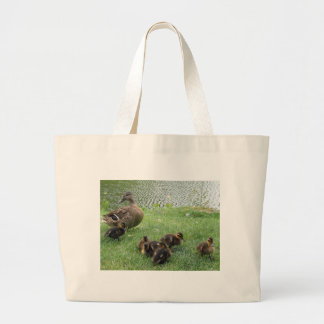 BEAUTIFUL DUCK FAMILY CANVAS BAGS