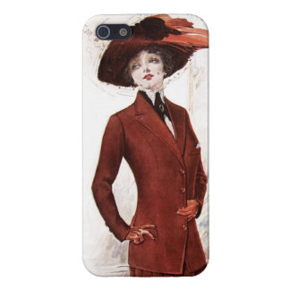Beautiful Early 1900's Woman iPhone SE/5/5s Case