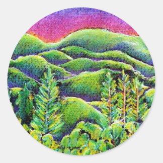 Beautiful Earth Mandala Sticker