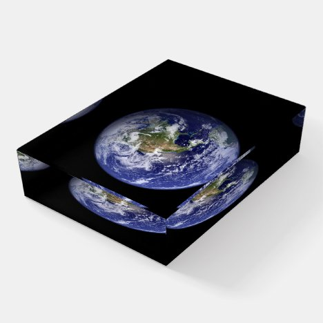 Beautiful Earth Paperweight