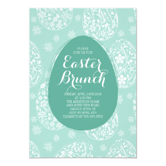 Beautiful Easter Brunch Dinner Party Invitation