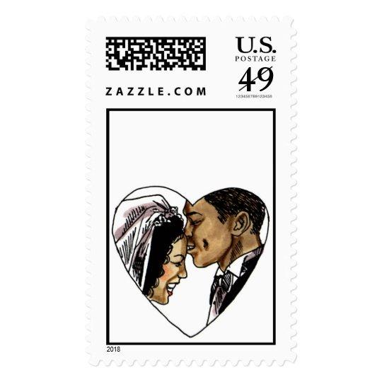 Beautiful Ebony Bride (1)  [CUSTOMIZE] Postage
