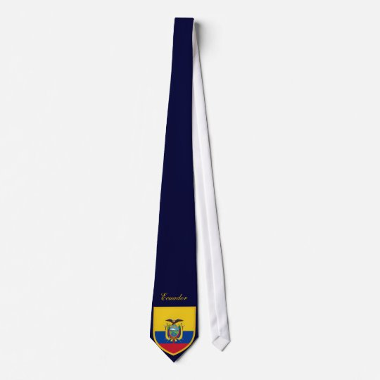 Beautiful Ecuador Republic Flag Neck Tie