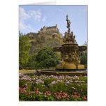 Beautiful Edinburgh Castle Card