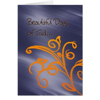 Beautiful Eid greeting card