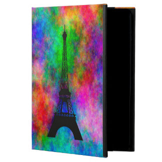 Beautiful Eiffel tower Paris colorful cloth effect Case For iPad Air