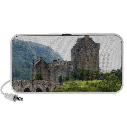 Beautiful Eileen Donan Castle in Western Dornie 2 Mini Speaker