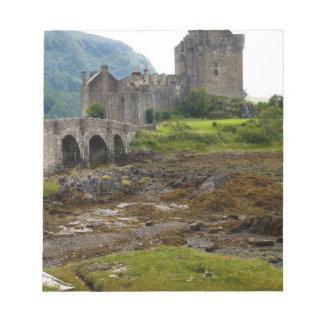 Beautiful Eileen Donan Castle in Western Dornie 2 Notepad