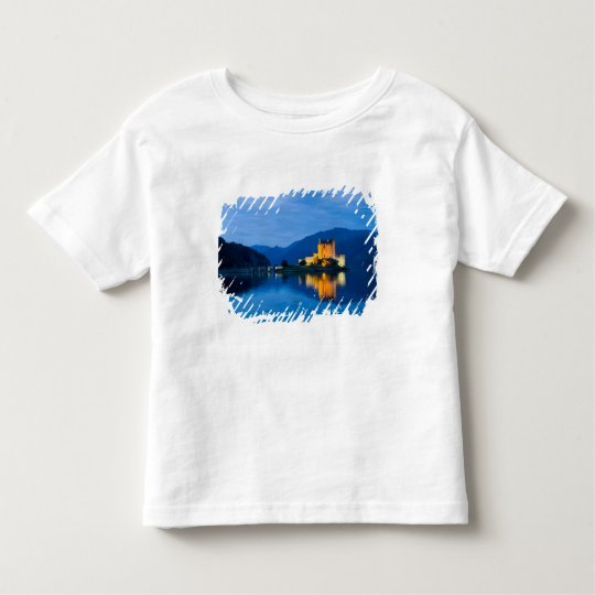 Beautiful Eileen Donan Castle in Western Dornie Toddler T-shirt