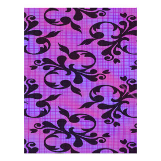 Beautiful Elegant Damask Scrapbook Paper