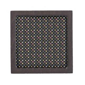 Beautiful Elegant Floral Pattern Premium Jewelry Boxes