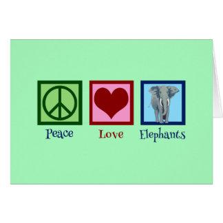 Beautiful Elephant Card