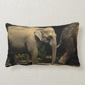 Beautiful Elephant Lumbar Pillow