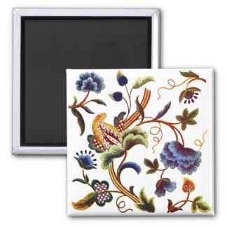 Beautiful Elizabethan Jacobean Embroidery Magnet