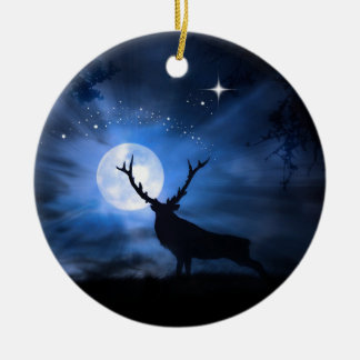 Beautiful  Elk Christmas Decoration Ornament