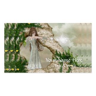 Beautiful Elven Magic Fantasy Business Cards