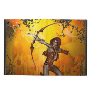 Beautiful elves with bow and arrow powis iPad air 2 case