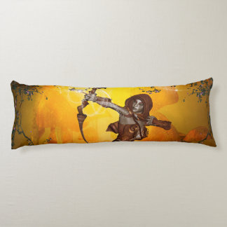 Beautiful elves with bow and arrow body pillow