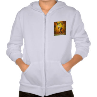Beautiful elves with bow and arrow sweatshirts