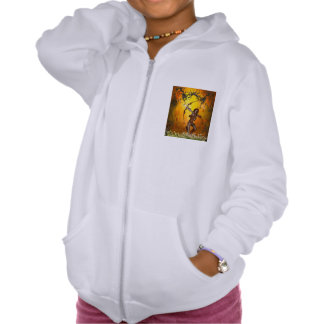 Beautiful elves with bow and arrow sweatshirt
