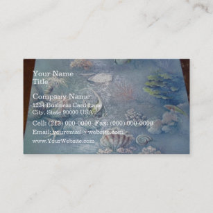 Embossed wallpaper business cards templates zazzle beautiful embossed wallpaper business card reheart Image collections