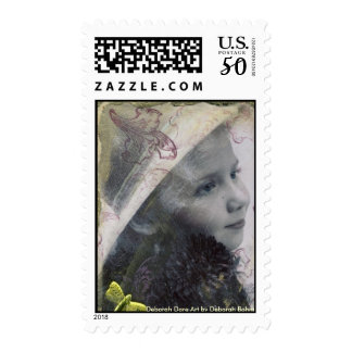 Beautiful Emilie Postage Stamps