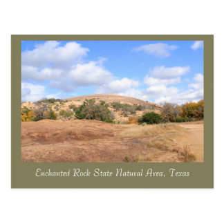 Beautiful Enchanted Rock State Natural Area Postcard