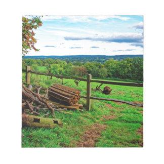 Beautiful English Countryside Notepad