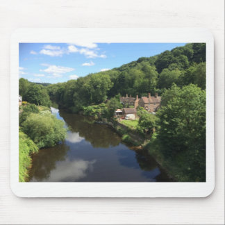 Beautiful English Scenery Mouse Pad