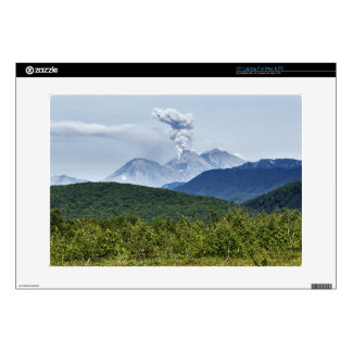 "Beautiful eruption volcano in Kamchatka Peninsula 15"" Laptop Skin"