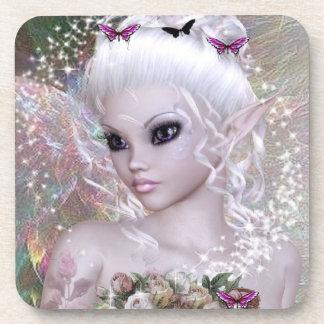 Beautiful Essence Fairy Beverage Coaster