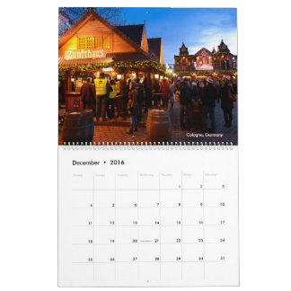 Beautiful Europe 2017 calendar