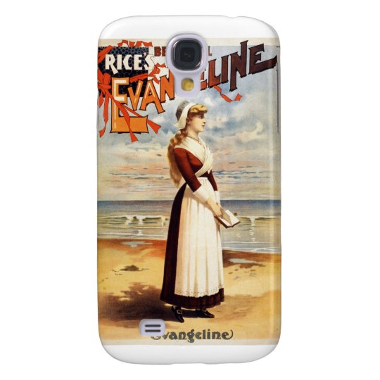 Beautiful Evangeline Vintage Poster Samsung S4 Case
