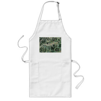 Beautiful Evergreen Long Apron