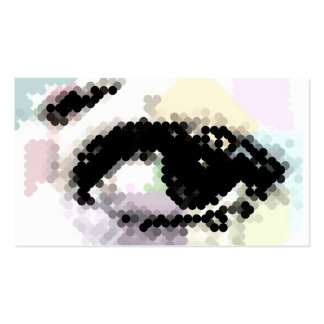 Beautiful Eye in Abstract Double-Sided Standard Business Cards (Pack Of 100)
