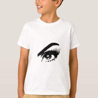 Beautiful Eye in Black & White T-Shirt