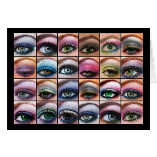 Beautiful Eyes Cards