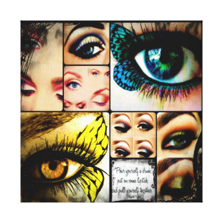 Beautiful Eyes Ed. 2 Canvas Print