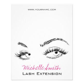 Beautiful eyes Long lashes Lash Extension Flyer